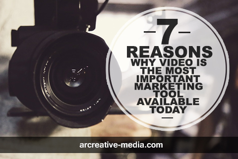7 Reasons Why Video is the Most Important Marketing Tool Available Today